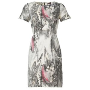Rachel Roy | Marble Print Sheath Dress